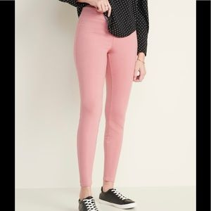 Women's Elastic waist Jersey Leggings